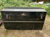 18th CENTURY CHEST FOR TOYS/WOOD ETC. COLLECTION IN NORTHAMPTONSHIRE
