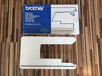 Brother sewing machine extension plate, great condition, clicks into machine £10