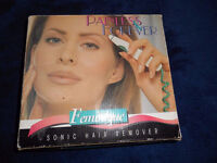 Feminique Bare & Beautiful Sonic Hair Removal System Tweezers Electric