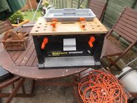 Black and decker workmate box