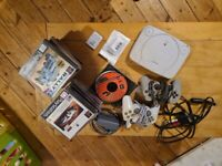 Ps1 with 2 controllers 2 memory cards and loads of games