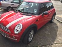Mini One 2005 Manual 1.6 petrol 3 Door Hatchback 34K Miles