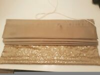 Stunning Next Roller Blind-Gold colour- 60 by 120cm