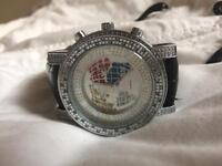 Quartz ice star watch