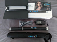 Westcott Ice Light 1 Fully Boxed + Barn Doors, Good condition, LED Photography Light 5600k Dimmable