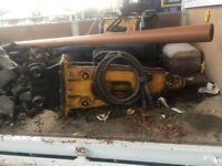 JCD hydraulic Pecker