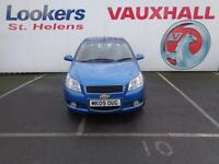 Chevrolet Aveo LT (blue) 2009-03-26