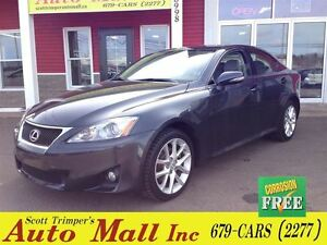 2011 Lexus IS 250 Sedan AWD! Very Rare with 51, 600Kms!!