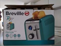 Toaster Breville Rio as good as new hardly used - comes with the box