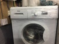 nice White haier washing machine 6kg 1200 spin in excellent condition in full working order