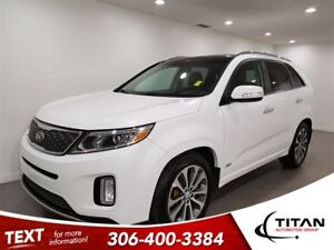 2014 Kia Sorento SX|AWD|Cam|Leather|Nav|Sunroof|Heated Seats