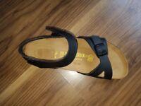 Black Birkenstock sandal - size 38 - never been worn - brand new - £35 o.n.o