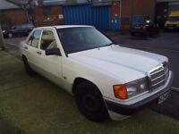 MERCEDES 190E, 1.8l petrol 1991 with NEW MOT