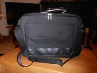 "Black Laptop case with additional storage, suit up to 17"" Laptop"