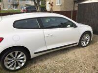 Brilliant White 2012 VW Scirocco 1.4 litre, Fantastic Condition!