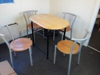 Small Table 4 Chairs