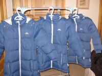 3 Trespass cosy winter coats in excellent condition Huge Bargian