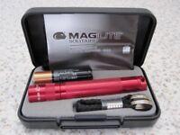 Maglite Solitaire Aluminium Pocket Torch