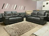 Beautiful Made in Italy electric recliner sofa