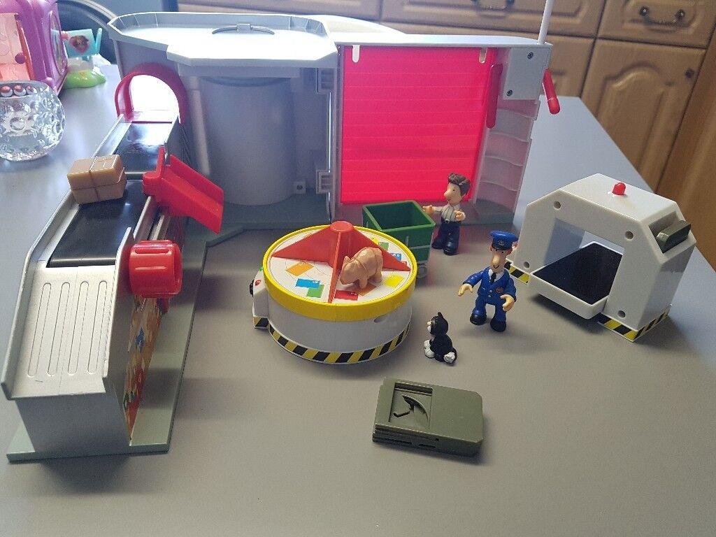 Post man pat sorting office