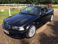 2003 BMW e46 convertible 2l new mot cabriolet