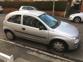 Reliable Vauxhall Corsa until it got jumped with the leads attached wrong... Now it needs a tow.
