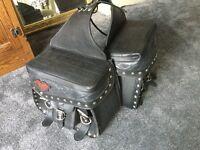 Harley Davidson saddlebags
