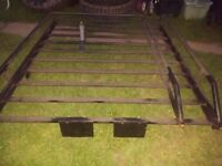 Landrover discovery / defender roof rack expedition overland