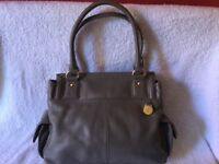 Jasper conran leather handbag. Never used. Paid£89.99 light taupe in colour. Very smart