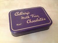Vintage Cadburys Milk Tray Tin