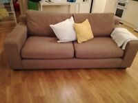 Light brown sofa