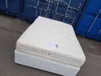John lewis double bed with mattress