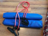 Exercise Mats and Fitness Resistance Bands