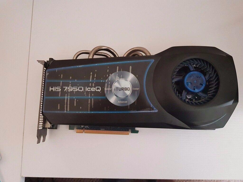 HIS HD 7950 IceQ Turbo - Radeon HD 7950 3 GB