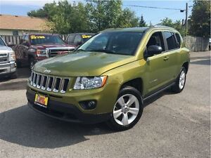 2012 Jeep Compass Sport/North WICKED COLOUR! HEATED MIRRORS HEAT