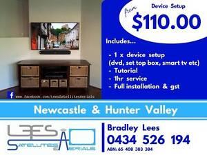 Device Setup (DVD Player, Set Top Box, Sound Bar ect) $110.00 West Wallsend Lake Macquarie Area Preview