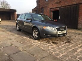 Audi A4 AVANT 2.5 TDI 12 months mot JUST HAD FULL VALET READY FOR NEW KEEPER