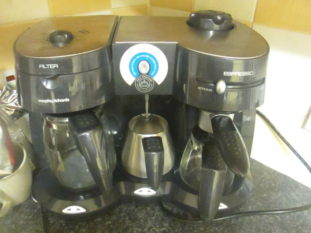 Morphy Richards Cafe Rico Combi Coffee Maker Model 47004 And Heated Milk Frother In Low Moor West Yorkshire Gumtree