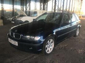 BMW 320d TOURING SE SAT NAV FULL LEATHER VERY WELL MAINTAINED 2003
