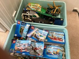Lots of sets of Lego booklets included .£70for all