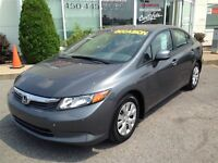 2012 Honda Civic LX * A/C * Cruise * USB * Bluetooth