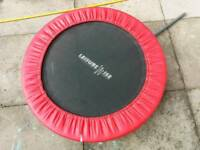 Small fitness trampoline