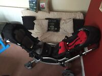 O baby Zoom tandem pushchair