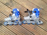 SFR-Cyclone adjustable roller blades, blue-grey, size 12-2