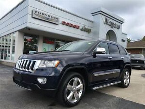 2012 Jeep Grand Cherokee OVERLAND, LEATHER, TOW PACKAGE, ALLOYS,