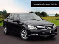 Mercedes-Benz C Class C220 CDI BLUEEFFICIENCY AMG SPORT (black) 2012-07-12