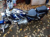 suzuki 125 intruder 03 this is a13year old bike with ware and tear but look nice