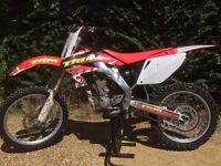 ** TWIN PIPE HONDA CRF250 ** RECENT COMPLETE TOP END REBUILD ** 250 450 125 YZF CRF KXF RMZ KTM **