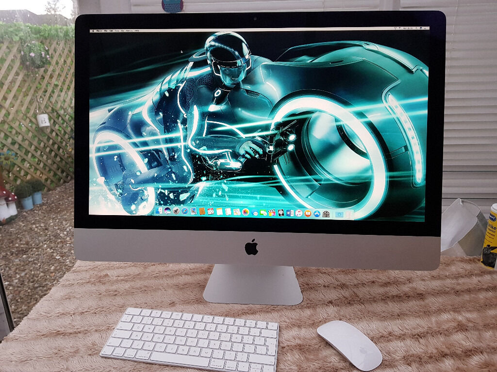 """IMAC (RETINA 5K, 27INCH, LATE 2015) Quad Core i5 and 12 Gb RamApple Warranty Up To 25 Augustin York, North YorkshireGumtree - IMAC (RETINA 5K, 27 INCH, LATE 2015) Only Apple Warranty Up To 25 August Like new very light use 27"""" Retina screen ( 5120 x 2880 ) Intel Quad Core i5 3.2 Ghz 12gb 1867 Mhz DDr3 1 TB HD Magic mouse/keyboard 2 New install with Sierra /Office / Logic..."""