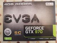EVGA Geforce GTX970 Super clocked. NO OFFERS
